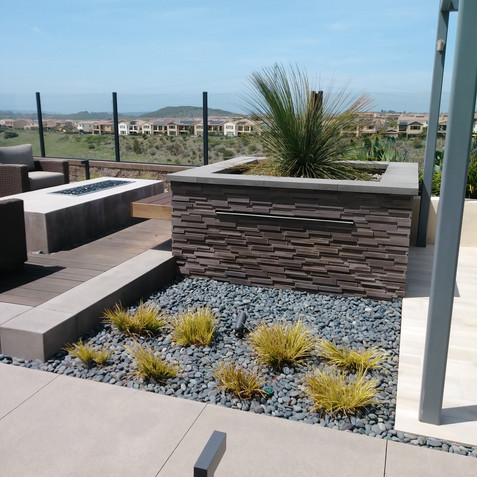 Planters and Hardscapes