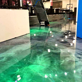 Metallic Epoxy In Dallas, Texas