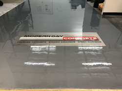 Epoxy Pigment with Logo Offices