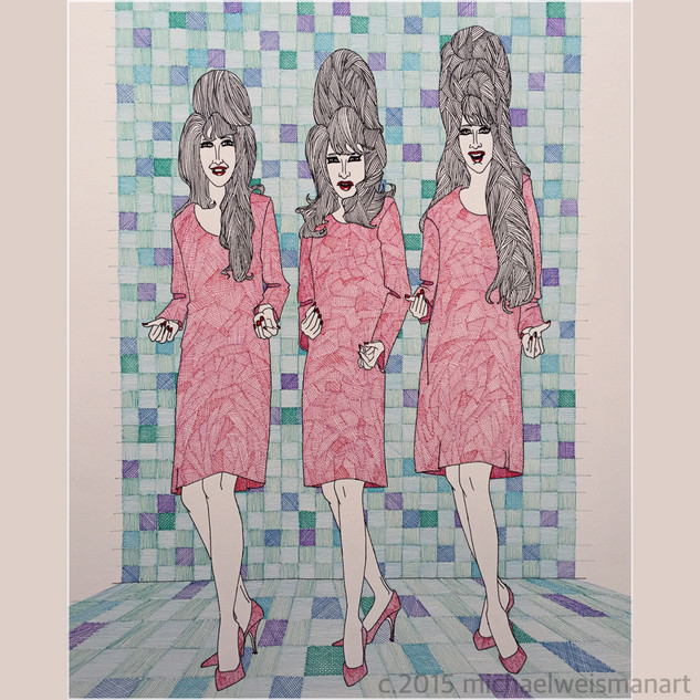 Ronettes Pen and Ink.jpeg