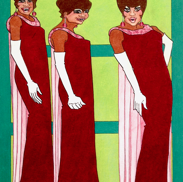 Marvelettes Red Gowns.jpeg