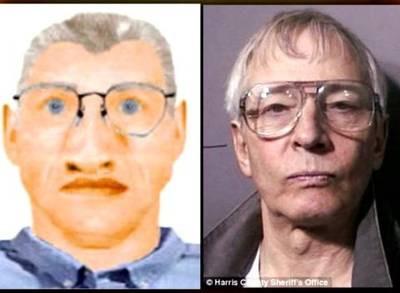 Suspect Composite next to Robert Durst.