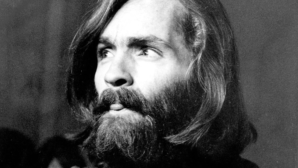 Charles Manson (1934-2017) convicted of first-degree murder and conspiracy to commit murder.