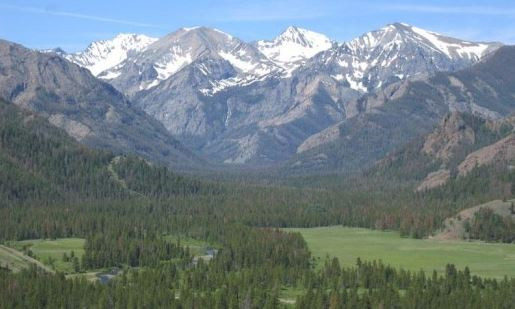 Shoshone National Forest in Wyoming is a climber's paradise.