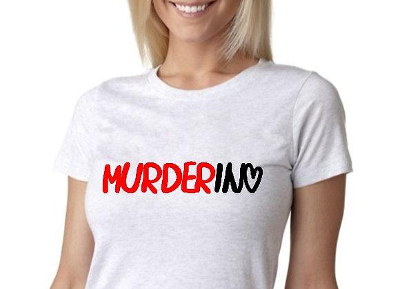 WOMEN'S 'Murderino' T-SHIRT