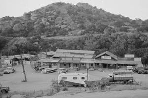 Spahn Ranch where the Manson family stayed during 1969.