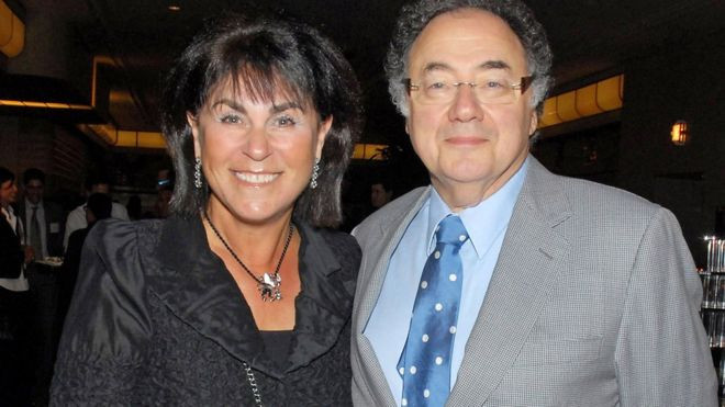 Dr. Barry Sherman and his wife Honey.