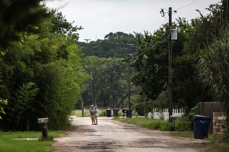 Northlake subdivision in Georgetown, Texas, where Rachel Cooke vanished while taking a morning run.