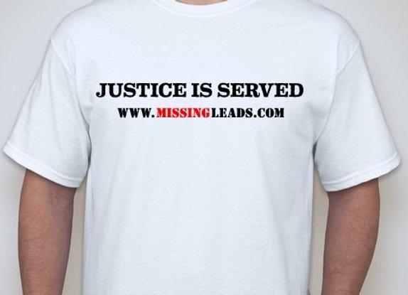 MEN'S 'JUSTICE IS SERVED' DESIGN