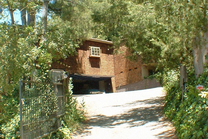 Manson victims Abigail Folger and Wojciech Frykowski home off Mulholland Drive in Laurel Canyon.