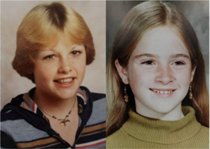 Kerry Graham and Francine Trimble, murdered in 1978.