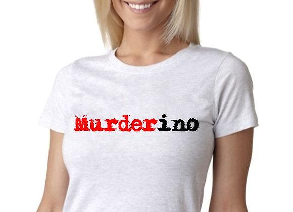 WOMEN'S 'Murderino' Spatter T-SHIRT