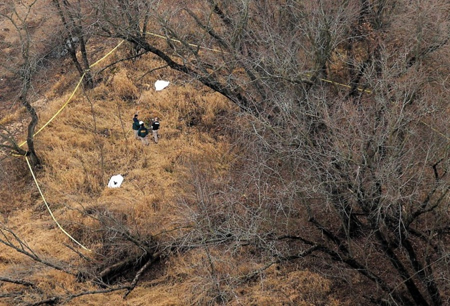 Remote location in Seven Bridges Wildlife park where the bodies of Lyric Cook and Elizabeth Collins were found by hunters.