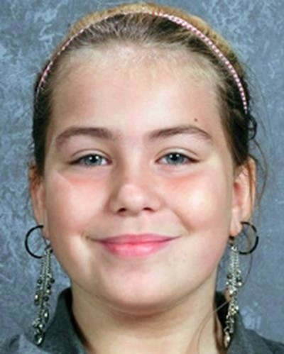 Lyric Cook,10, found murdered with her cousin Elizabeth Collins, 8.
