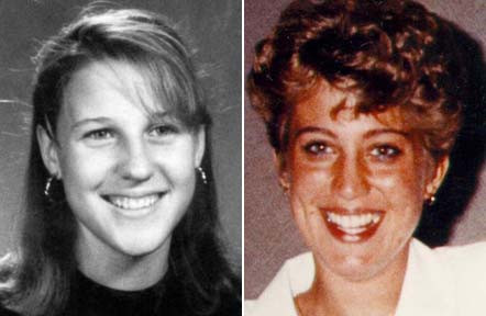 Melanie Bernas and Angela Brosso killed along the Arizona Canal in 1992.
