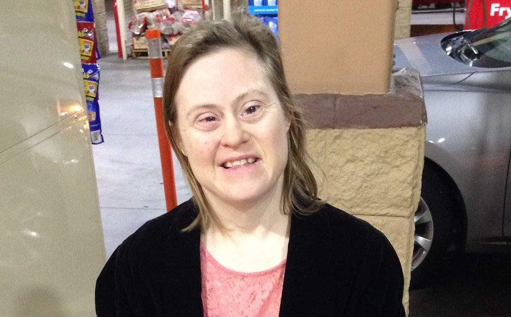 Sarah Galloway, 38, has Down's Syndrome and vanished from her home on March 21, 2019, from her home near Tucson, Ariz.