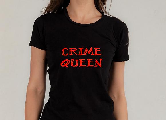 WOMEN'S 'Crime Queen'  T-SHIRT