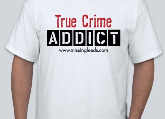 MEN'S 'TRUE CRIME ADDICT' DESIGN