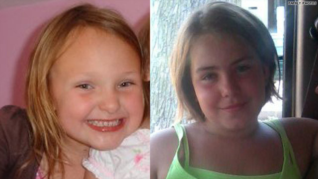 Elizabeth Collins, 8, and cousin Lyric Cook, 10, both murdered in Evansdale, Iowa.