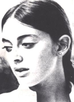 Murder victim Marina Habe, murdered December 29, 1968 in Hollywood, Calif.