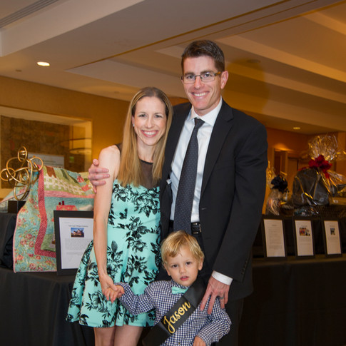 Photo of a family at UCP-OC's Life Without Limits Gala
