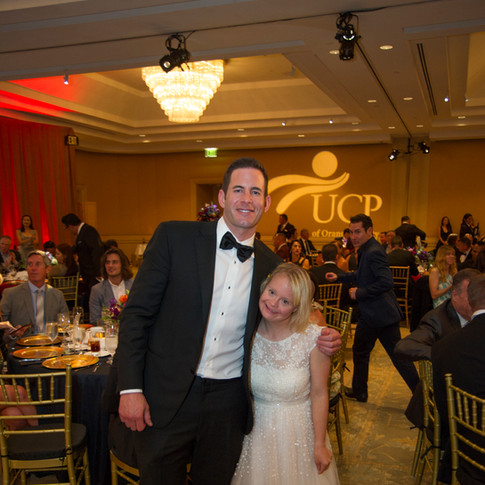 Photo of a man and girl with special needs at UCP-OC's Life Without Limits Gala