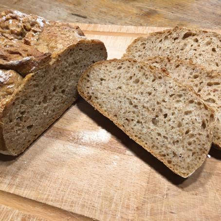 50:50 Sauerteig-Brot