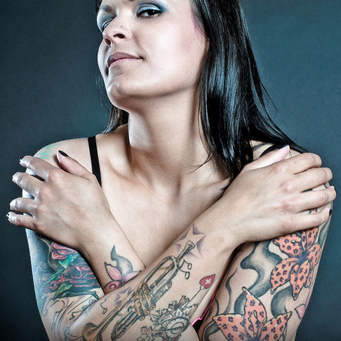 Tattoo-Shooting mit Natalie