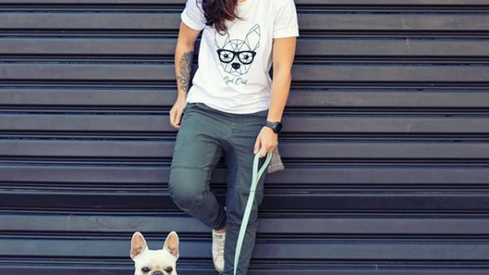 Unisex Good Chat Tee - Frenchie