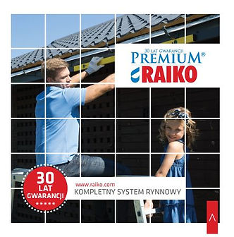 Okładka Katalog RAIKO PREMIUM - System Rynnowy