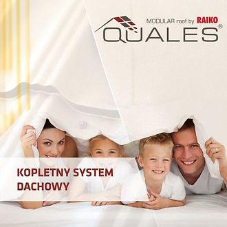Okładka Katalog QUALES MOUDULAR ROOF - Kompletny system dachowy, Blachodachówka