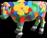 AllMiamiLakesRealEstate.com flower cow