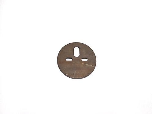 Universal Circle Bag Plate