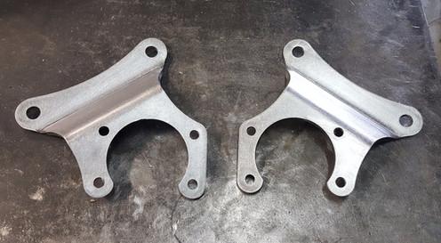 Rear disc brake conversion