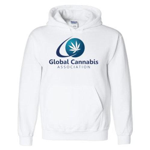 "Global Cannabis Hoodie ""White"""