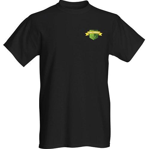 "T-Shirt Global Cannabis Association Award Logo ""Black"""