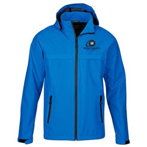 """Global Cannabis Waterproof Winter Jacket """"Blue"""""""