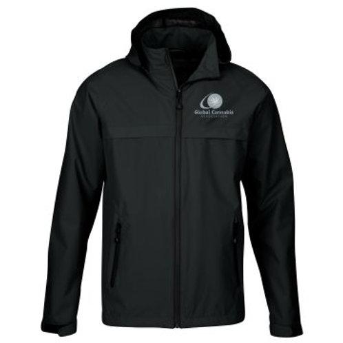 """Global Cannabis Waterproof Winter Jacket """"Black"""""""