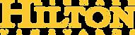 hilton vineyards logo gold on black Logo