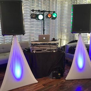 Setup for tonight's gig #djralphy #babys