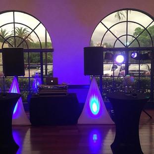 Setup for tonight's wedding 👌🏻#Djralph