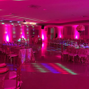 Wireless uplighting contact me for you'r