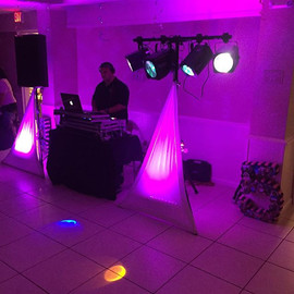 Setup for tonight's gig #djralphy #djwil