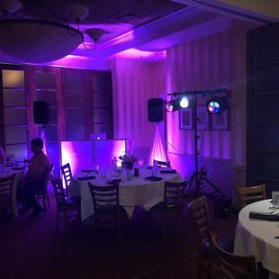 DJ Ralphy Sound & Lighting setup for ton