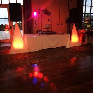 Setup is ready for tonight #weddingmode