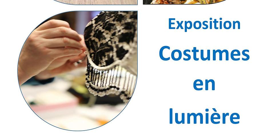 Exposition Costumes en lumières
