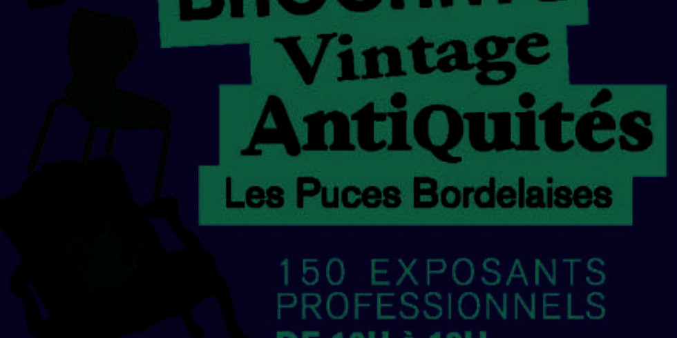 Les puces bordelaises - Antiquités brocantes