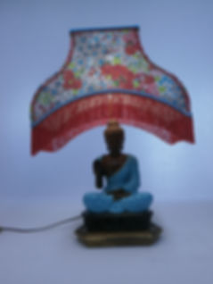 Lampe Zen pagode birmane