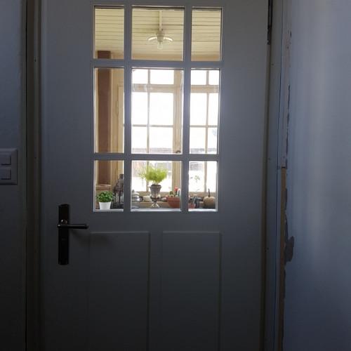 Eingangstüren klassisch Massivholz gestemmt mit Verglasung