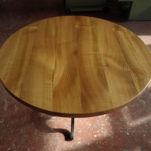 Bistrotisch rund Kirschbaum massiv